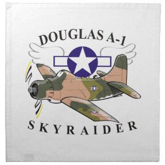 douglas a-1 skyraider napkin
