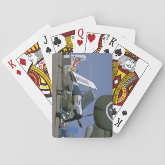 Douglas AD-1 Skyraider, Folded Wings_WWII Planes Playing Cards