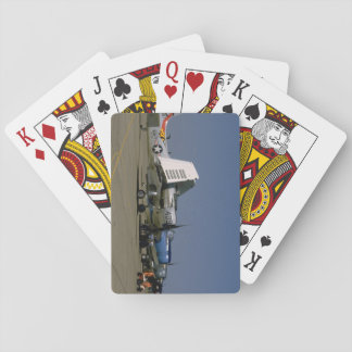 Douglas AD-1 Skyraider, In Row_WWII Planes Playing Cards