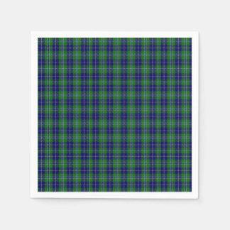 Douglas Clan Tartan Plaid Paper Napkins