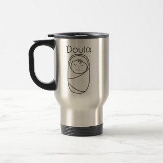 Doula and Baby- Doula Gift Travel Mug