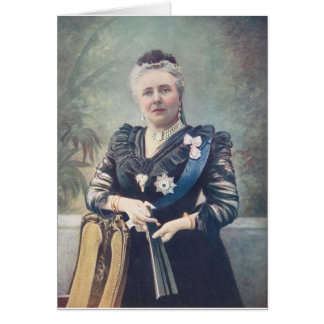 Dowager Empress Frederick of Germany Card