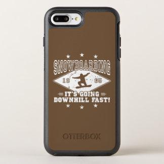 DOWNHILL FAST! (wht) OtterBox Symmetry iPhone 8 Plus/7 Plus Case