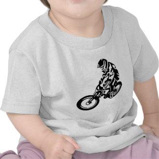 Downhill mountain bike rider tee shirt