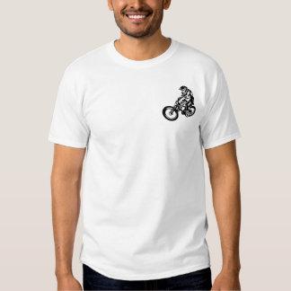 Downhill mountain bike rider tees