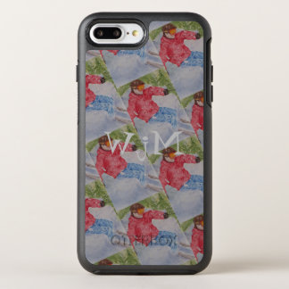 DOWNHILL SKIING MONOGRAM OtterBox SYMMETRY iPhone 8 PLUS/7 PLUS CASE