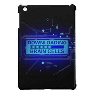Downloading brain cells. iPad mini cover