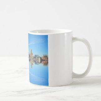 Downtown Baltimore Maryland Skyline Reflection Coffee Mug
