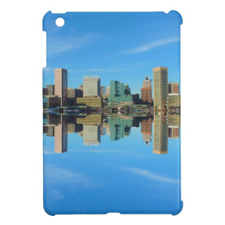 Downtown Baltimore Maryland Skyline Reflection Cover For The iPad Mini