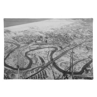 Downtown Cleveland in 1937 Placemat