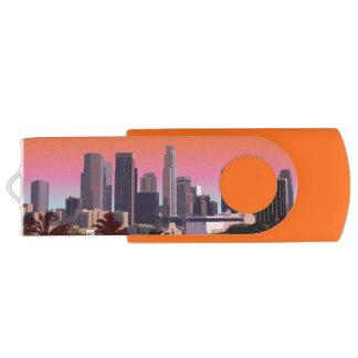 Downtown L.A. Swivel USB 3.0 Flash Drive