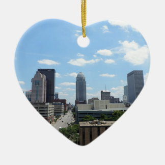Downtown Louisville Christmas Ornament