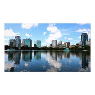Downtown Orlando Art Photo