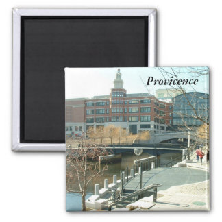 Downtown Providence Square Magnet