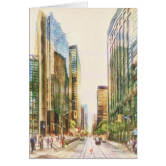 Downtown Toronto by Shawna Mac Card
