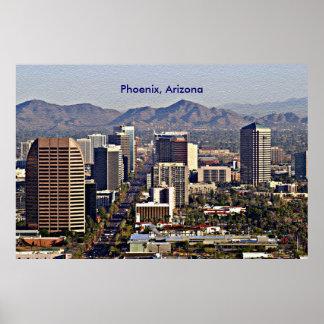 Downtown View of Phoenix, Arizona Poster