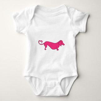 Doxie Love Baby Bodysuit
