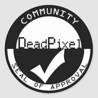 DPL Seal of Approval Round Sticker