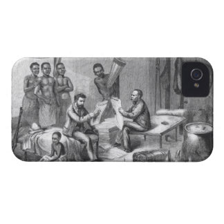 Dr. David Livingstone (1813-73) and Mr. Henry Mort Case-Mate iPhone 4 Case