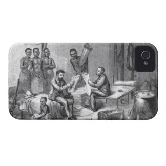 Dr. David Livingstone (1813-73) and Mr. Henry Mort iPhone 4 Cover