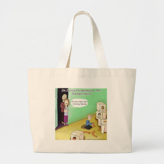 Dr. Henry Frankstien Youthful Years Large Tote Bag