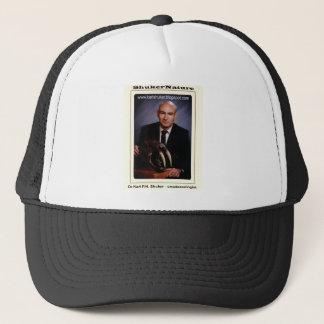 Dr Karl Shuker and Smilodon Skull - ShukerNature Trucker Hat