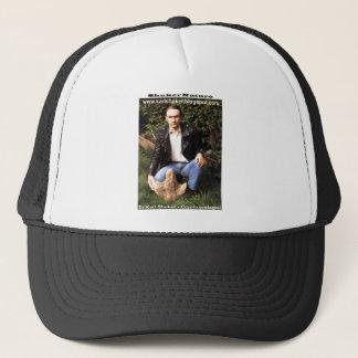 Dr Karl Shuker & dinosaur footprint - ShukerNature Trucker Hat