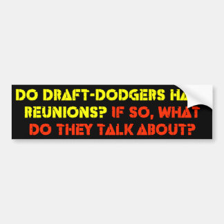 Draft Dodgers Car Bumper Sticker