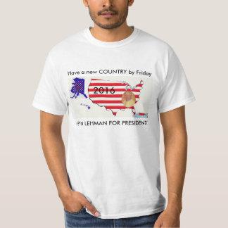 DRAFT LEHMAN 4 PRESIDENT T-Shirt