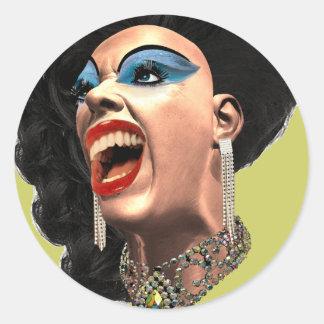 Drag Classic Round Sticker
