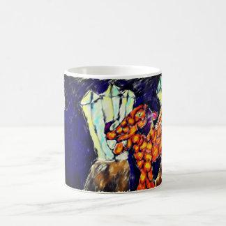 Dragon and opal magic mug