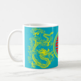 Dragon and phoenix Chinese art Coffee Mug
