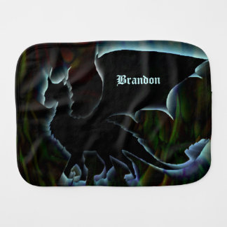 Dragon Aura Burp Cloth