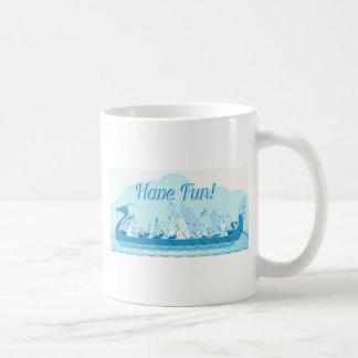 Dragon Boat - Water Dragon - Have Fun Coffee Mug