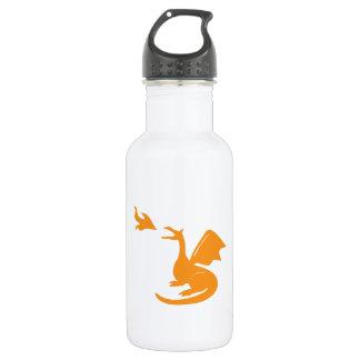 Dragon Breathing Fire 532 Ml Water Bottle