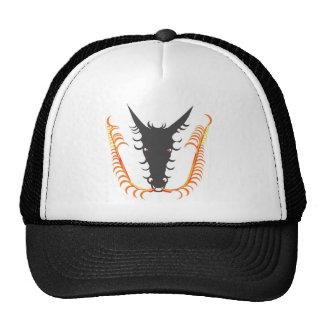 Dragon Breathing Fire Mesh Hats