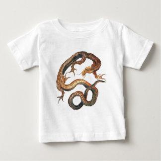 Dragon by Hokusai Baby T-Shirt