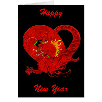 Dragon Chinese New Year Greeting Card