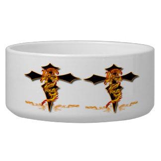 Dragon - Cross Dog Bowl