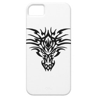 Dragon Face Tattoo Barely There iPhone 5 Case