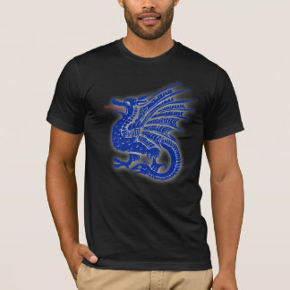 Dragon Fire breathing dragon medievil asian T-Shirt