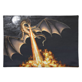 Dragon fire placemat