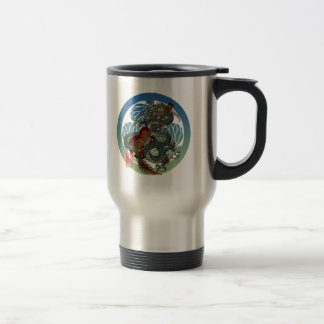 Dragon Guitar 02 Travel Mug