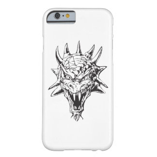Dragon Head on White Barely There iPhone 6 Case