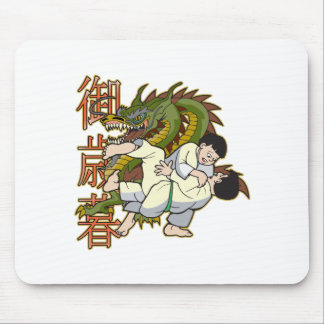 Dragon Karate Fighters Mouse Pad