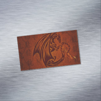 Dragon Magnetic Business Cards