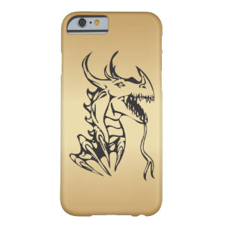 Dragon on Gold Barely There iPhone 6 Case