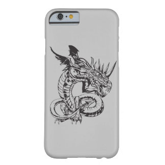 Dragon on Silver Barely There iPhone 6 Case