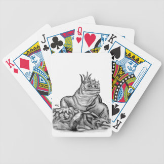 Dragon on the Rock Bicycle Playing Cards