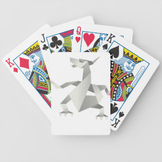 Dragon Origami Style Poker Card Game